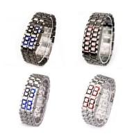 LED Digital Watch of Lava Style Mens Sports Wrist Watch