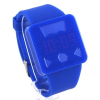 Levi Strauss Style Touch Screen Watch Silicon Strape Fashion Wrist Watch