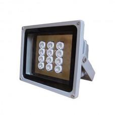 High Power F12 15 Degree 220m IR Illuminator Infrared Ray Flashlight