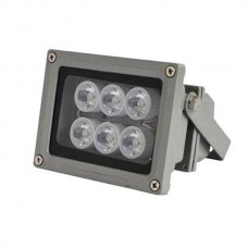 High Power F6 120 Degree 5M White Light Illuminator White Flashlight