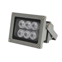 High Power F6 45 Degree 25M White Light Illuminator White Flashlight