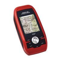 Magellan Triton 400 GPS Receiver Waterproof Hiking GPS with Flat Mount Bracket Holder