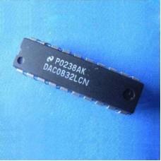 DAC0832LCN 8bit Dual Buffered  DAC0832 D/A Converter DIP20  5PCS