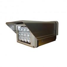 High Power 12LED H12 120 Degree 10M White Light Illuminator Flashlight
