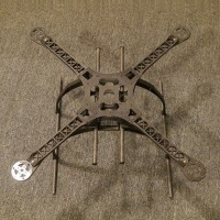 XAircraft DIY X4 CF Frame Special Kit Combo w/ Motor ESC Propeller x4