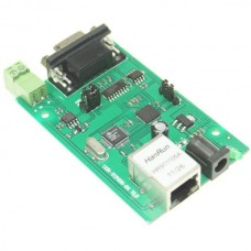 RS232 RS485 Serial Port to Ethernet TCP/IP Converter Adpter Communication Module