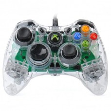 Transparent Green Light Wired Controller for XBOX 360