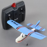 TW-781 Cessna Mini Infrared Control Indoor 2CH Airplane Plane RTF Blue