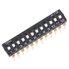IC chip Analog Switch 12 Digital 2.54mm DIP Switch