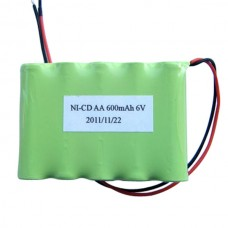 6V 600 mAh Rechargeable Battery Set for Robot Tracing Car