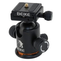 Professional BK-03A Camera Tripod Ball Head With QR Plate Updated Mark KS-0