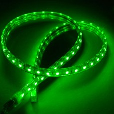 Green SMD 5050 600 LED Flexible LED Strip Lamp 220VAC Waterproof with Plug- 10M