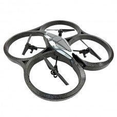 Parrot AR.Drone Quadcopter Flying Saucer Controlled by iPod touch iPhone iPad and Android Devices