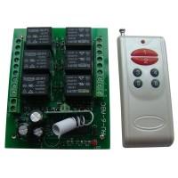 12V Wireless 6 Channel Way Remote Control Switch