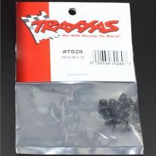 20pcs Traxxas 1/16 Scale Slash E-Revo Hollow Balls TRA7028