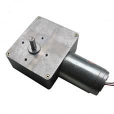 GW4468 24V 115rpm Worm Gear Motor Micro DC Motor High-torque 28kg.cm