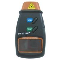 LCD Digital Photo Tachometer IR From 5-100000 RPM DT-2234C+ Tach Meter RPM
