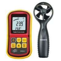 GM8901 Digital Wind Speed Gauge Wind Speed Anemometer Wheater Meter