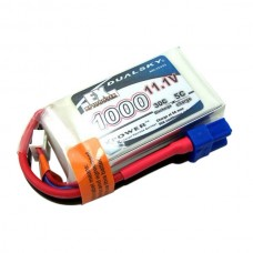 Dualsky XP10003EX 1000mAh LiPo Battery Pack 11.1V 3S1P 30C