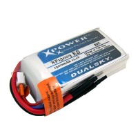 Dualsky XP13003ES 1300mAh LiPo Battery Pack 11.1V  3S1P 20C