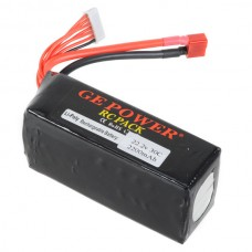 GE POWER 2200mAh 30C 22.2V Rechargeable Lithium Polymer Battery