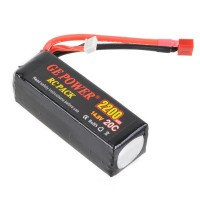 GE POWER 2200mAh 20C 14.8V Rechargeable Lithium Polymer Battery