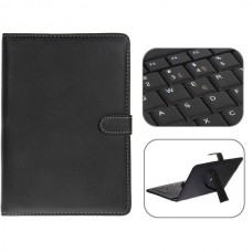 USB 2.0 Portuguese Keyboard Leather Case with Stylus for 10 inch Tablet PC- Portuguese