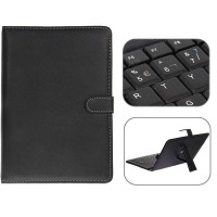 USB 2.0 Spanish Keyboard Leather Case with Stylus for 10 inch Tablet PC- Spanish