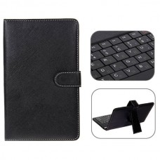 USB 2.0 Russian Keyboard Leather Case with Stylus for 7 inch Tablet PC-Russia