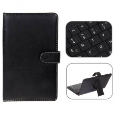 USB 2.0 Franch Keyboard Leather Case with Stylus for 7 inch Tablet PC-Franch