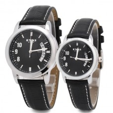 10M Waterproof Lover Watch  Eyki Watch Fashionable and Fancy Quartz Watch Pair