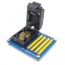 QFP64 PQFP64 TQFP64 0.8mm Pitch- IC Test Socket Adapter GP-QFP64-0.5