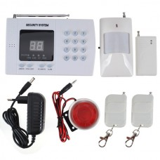 Intelligent Wireless Auto-dial Alarm System with PIR Detector