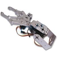 Arduino Robot 2 DOF Aluminium Clamp Claw Mount kit w/ 2 TR205 Servos