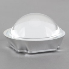 50mm Light Reflection Cup with 44.5cm Optical Glass Convex Lens