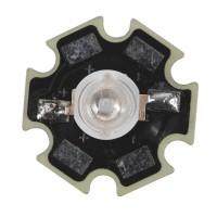 1W Star High Power LED Lamp Light - Purple