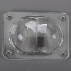 110 x 80MM LED Light Optical Glass Convex Lens Projector Reflector for Street Light