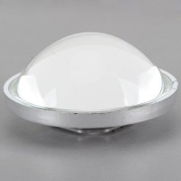 78mm Light Reflection Cup Holder with 76cm Optical Glass Convex Lens