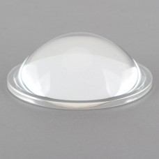 90 Degree 67cm Optical Glass Convex Lens For LED Light