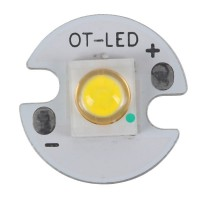 3W SEMI LED Emitter with 16mm Alumnium Based Board- Cool White