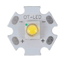 3W SEMI LED Emitter Light with 20mm Alumnium Based Board-Cool White