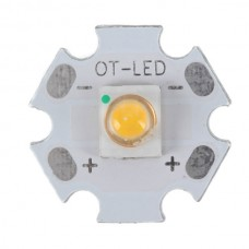 3W SEMI LED Emitter Light with 20mm Alumnium Based Board-Warm White