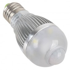 High Power Infrared Sensor AL1035 5W AC90-250V LED Light Bulb
