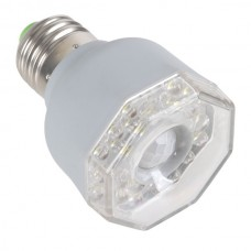 E27 3W LED 220-240V White Light Far-infrared Automatic Sensor Lamp