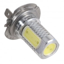 High Power Car H7 6W SMD LED Super Headlight Bulb Light-White