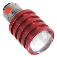 Bright Red CREE Q5 7W SMD LED Auto Tail/Brake/Park Bulb 1157 BAY15D