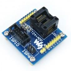 ATtiny24 Tiny44 SOIC14(150 mil) - AVR Programmer Adapter