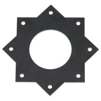 Mounting Plate Mount 45 Degree Adapter Flight Controller Protector for Multicopter