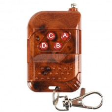 Latest Design Slidding 4 Buttons Remote Control with Keychain