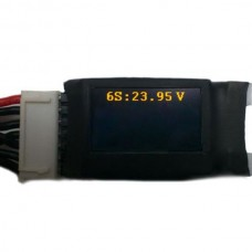 Telemetry Accessories FrSky LiPo Voltage Sensor 1S-6S up to 12S OLED Screen FLVS-02